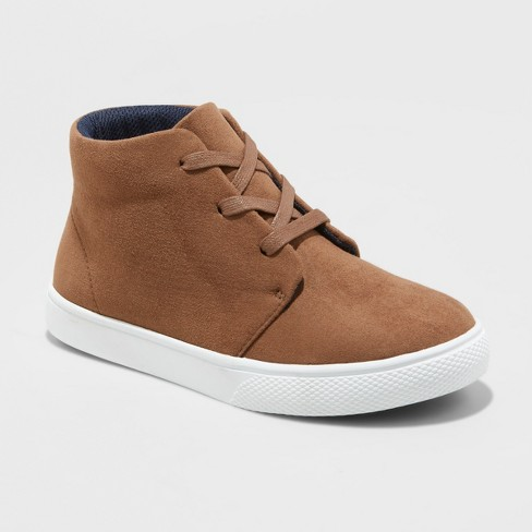 Boys' Blaine Chukka Boots - Cat & Jack™ Brown - image 1 of 3