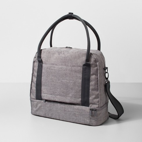 Duffel Bag Heather Gray - Made By Design™   Target 1292fe3e9f4ca
