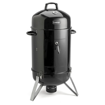 "Cuisinart Vertical 18"" Charcoal Smoker Model COS-118 - Black"
