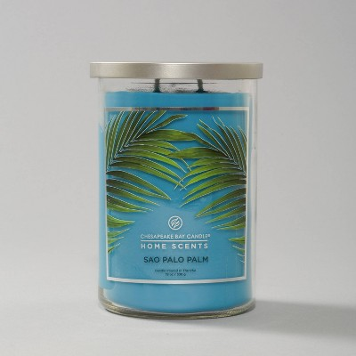 Glass Jar Sao Paulo Palm Candle - Home Scents by Chesapeake Bay Candle