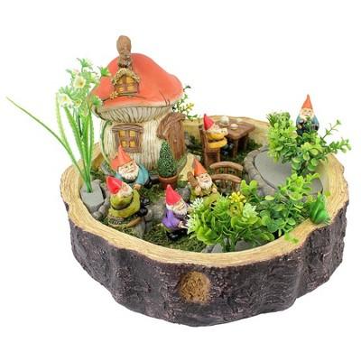 Design Toscano Tiny Forest Friends Gnome Garden Statue Collection - Multicolored