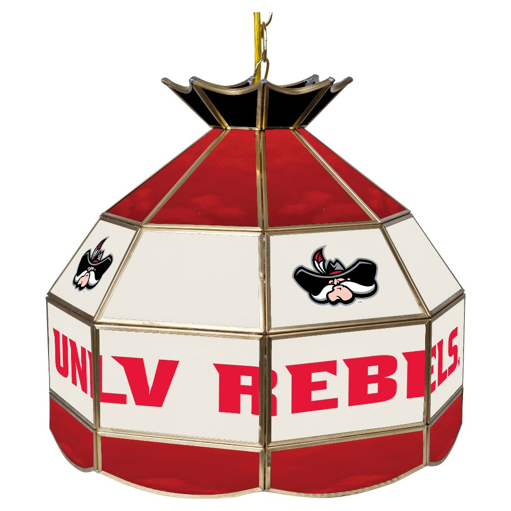 NCAA Unlv Rebels Stained Glass Tiffany Lamp - 16