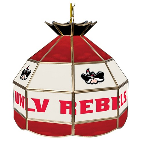 "NCAA UNLV Rebels Stained Glass Tiffany Lamp - 16"" - image 1 of 1"