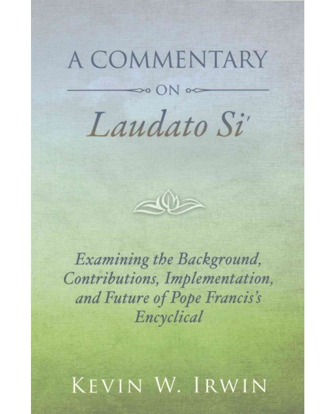 Commentary on Laudato Si : On Care for Our Common Home (Paperback) (Kevin W. Irwing) - image 1 of 1