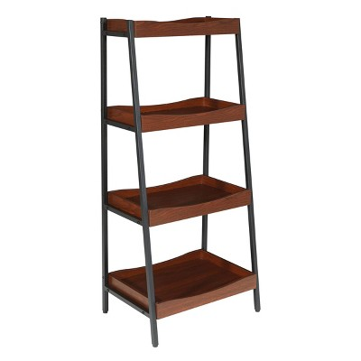 4 Shelf Jasper Storage Unit - OSP Home Furnishings