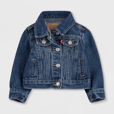 Levi's® Baby Girls' Trucker Jacket - Blue