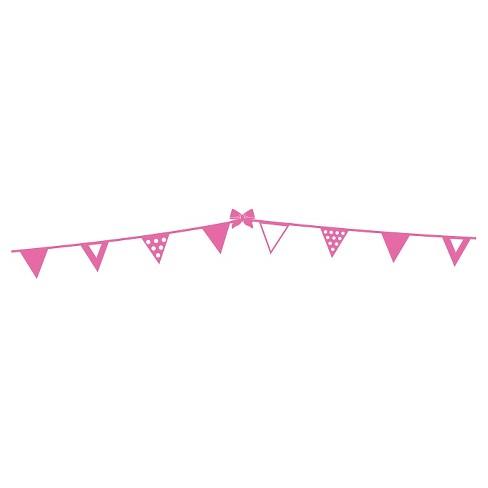 polka dots border wall decal pink target