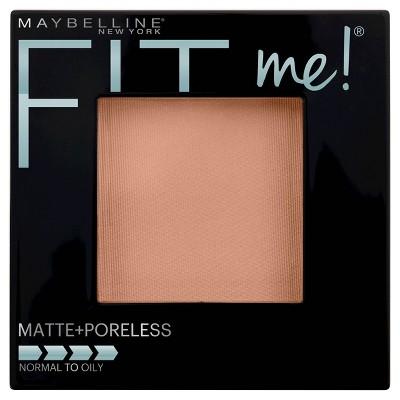 Maybelline FIT ME! Matte + Poreless Pressed Face Powder - 222 True Beige - 0.29oz