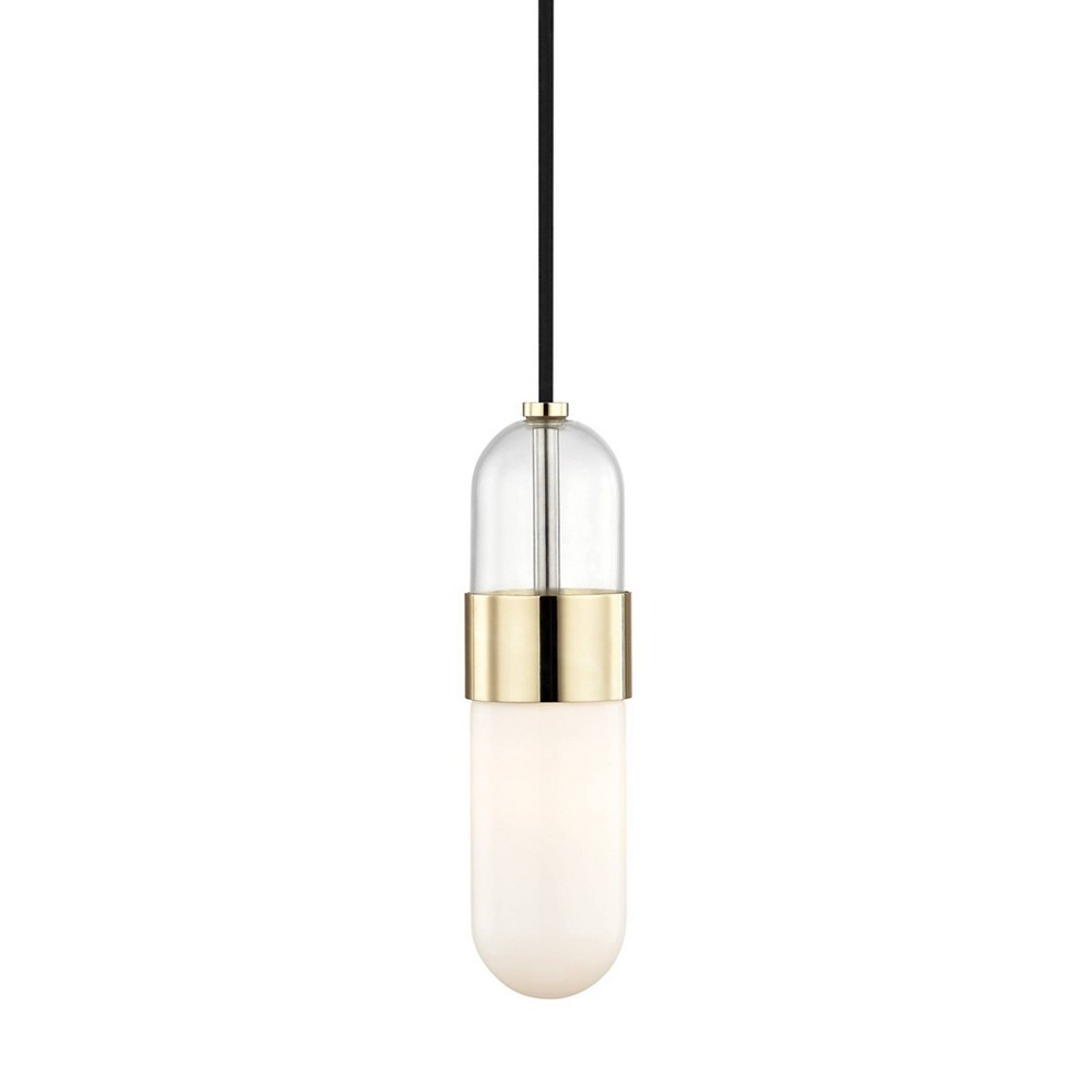 Emilia LED Pendant Chandelier Aged Brass - Mitzi by Hudson Valley Coupons