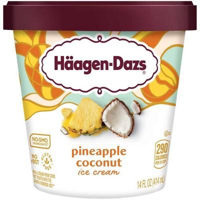 Haagen Dazs Pineapple Coconut Ice Cream - 14oz