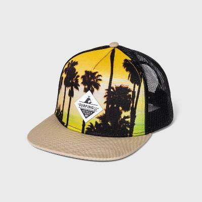 Boys' Photoreal palm Tree Trucker Hat - art class™