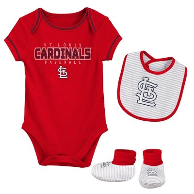 MLB St. Louis Cardinals Baby Boys' Short Sleeve Layette Set