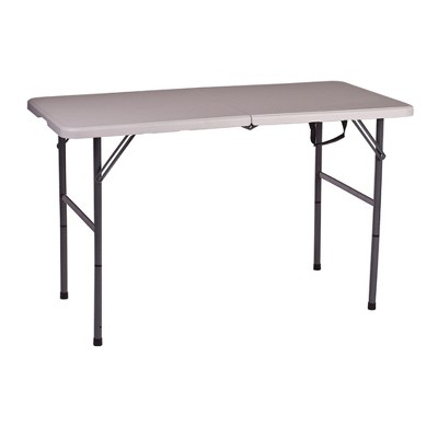 "Stansport Folding Camping Table With Adjustable Height 48"" x 24"""