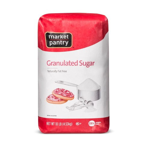 Granulated Sugar - 10lbs - Market Pantry™ - image 1 of 1