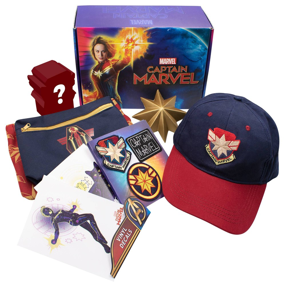 Image of Culturefly Captain Marvel Collectors Box