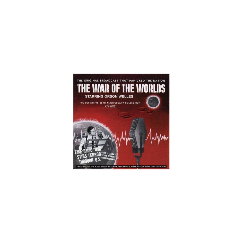 Orson Welles - War Of The Worlds:Definitive 80th 193 (CD)
