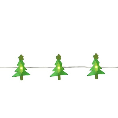 Northlight 20ct LED Christmas Tree Fairy Lights Warm White - 6' Copper Wire