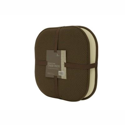 Goodgram 2 Pack Ultra Comfort Memory, Memory Foam Chair Pad 2 Pack