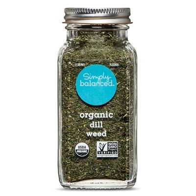 Organic Dill Weed - 1.1oz - Simply Balanced™