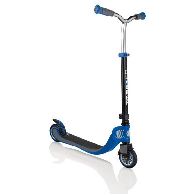 Globber Flow 125 Foldable 2 Wheel Kids' Kick Scooter - Navy Blue