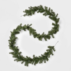 9ft Christmas Artificial Pine Garland - Wondershop™