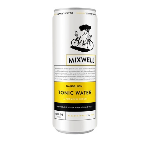 Mixwell Dandelion Tonic Water - 12 fl oz Can - image 1 of 3