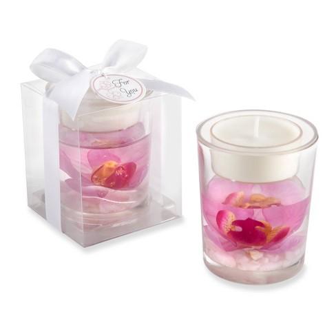 12ct Elegant Orchid Tealight Holder - image 1 of 2