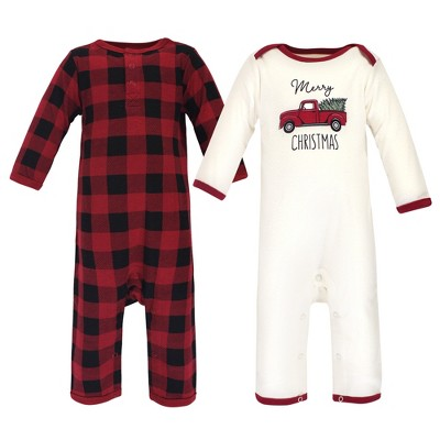 Touched by Nature Baby Unisex Holiday Pajamas, Baby Christmas Tree