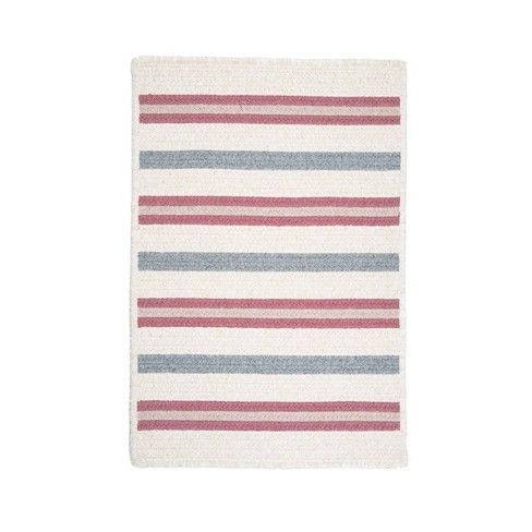 Uptown Stripe Braided Area Rug - Colonial Mills - image 1 of 4
