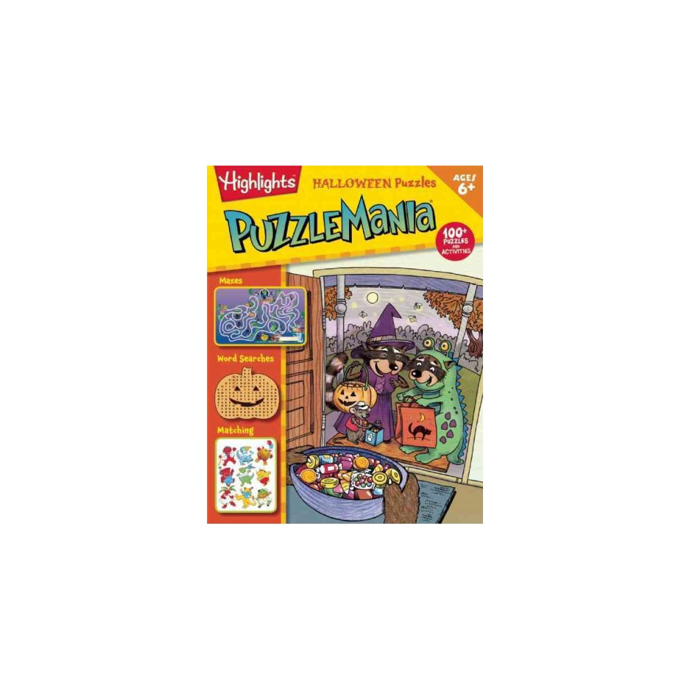 Puzzlemania Halloween Puzzles (Paperback)