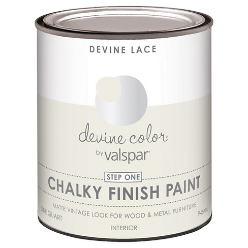 Devine Color Chalky Finish Paint - Lace White - image 1 of 1