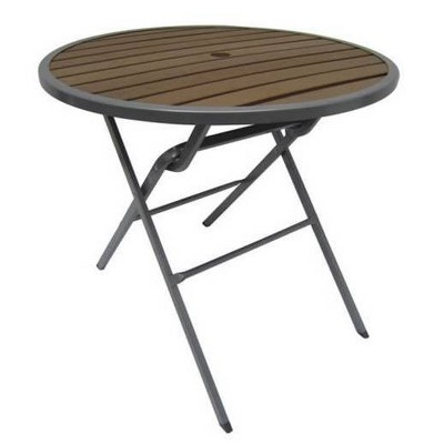 "Bryant 32"" Round Faux Wood Folding Patio Bistro Table -  Project 62™"