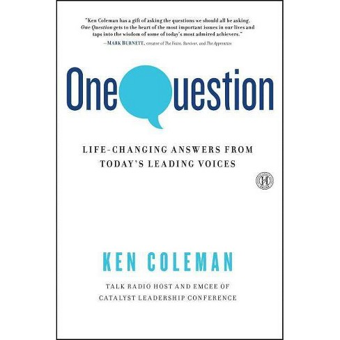 One Question - by  Ken Coleman (Paperback) - image 1 of 1