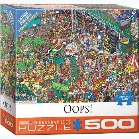 Eurographics Inc. Oops! by Martin Berry 500 Piece Jigsaw Puzzle - image 1 of 4