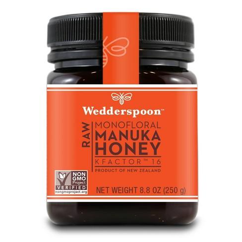 Wedderspoon Raw Monofloral Manuka Honey KFactor 16 - 8.8oz - image 1 of 4