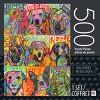 "Cardinal 500pc Foil Puzzle - ""Dogs"" - image 2 of 2"