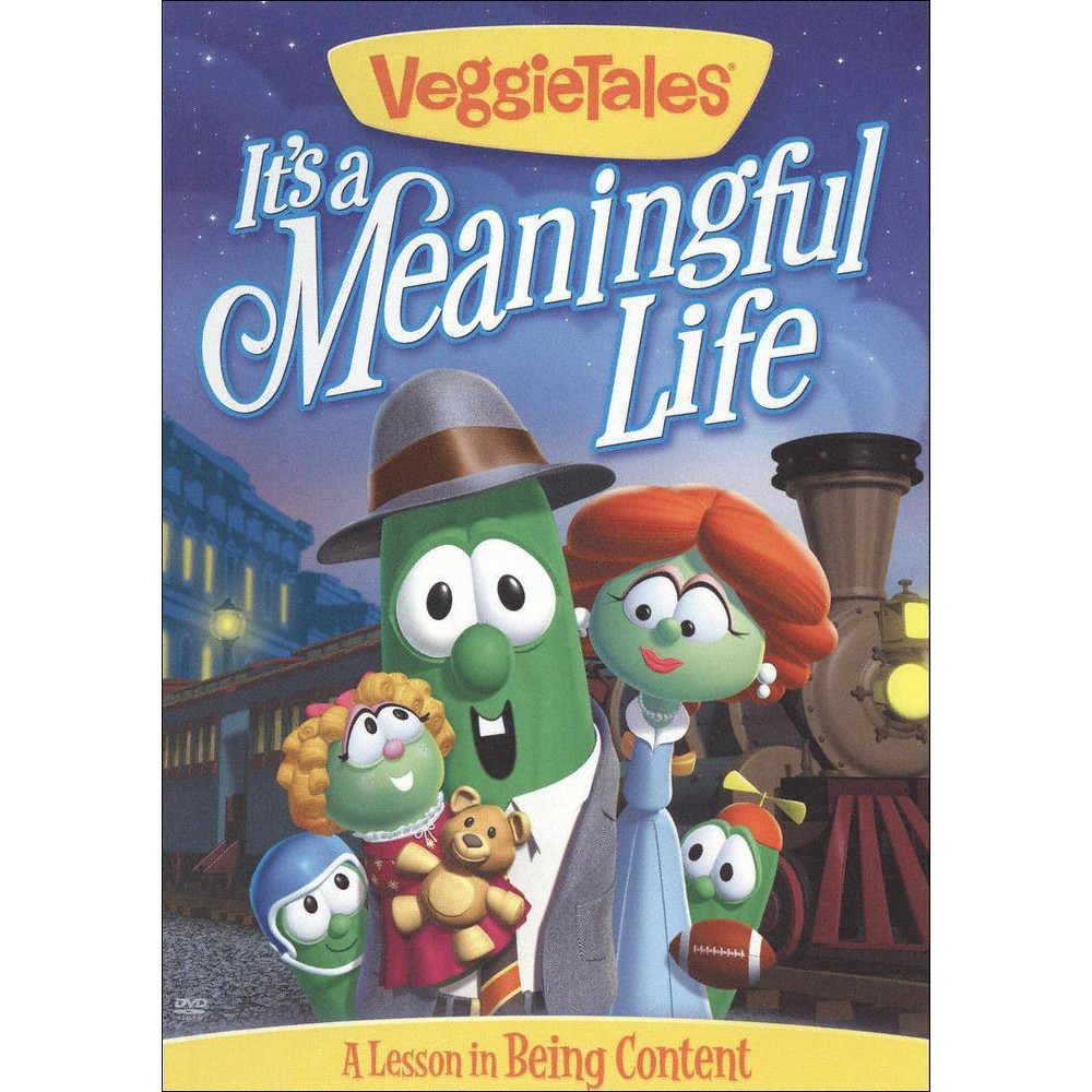 Veggie Tales: It's a Meaningful Life - A Lesson in Being Content (dvd_video)