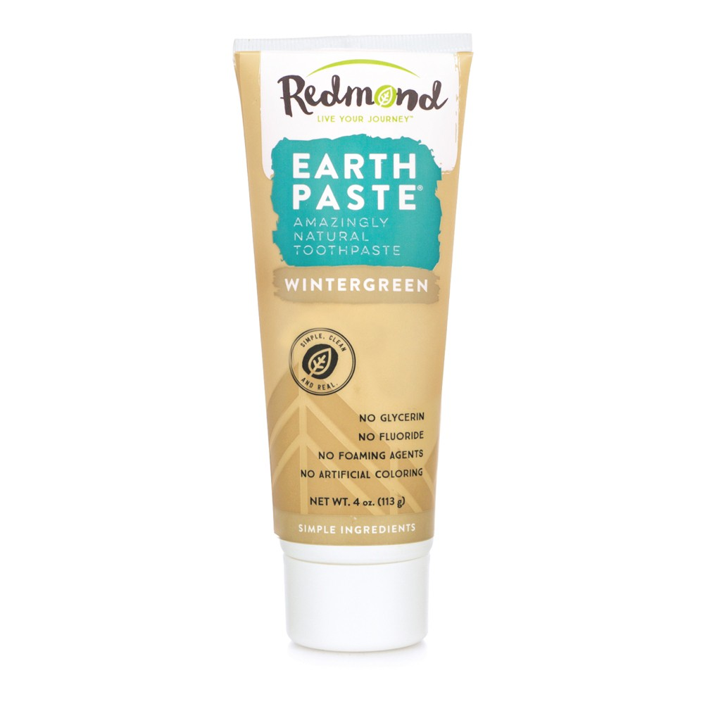 Image of Redmond Earthpaste Wintergreen Toothpowder - 4oz
