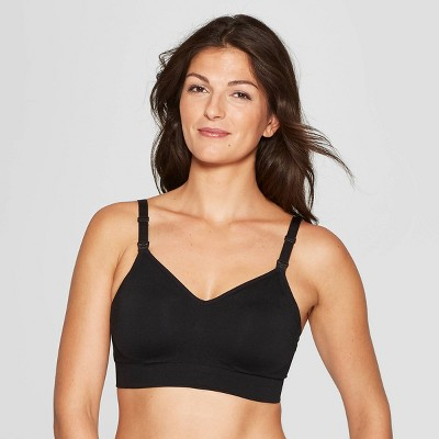 Women's Nursing Seamless Bra - Auden™ Black S