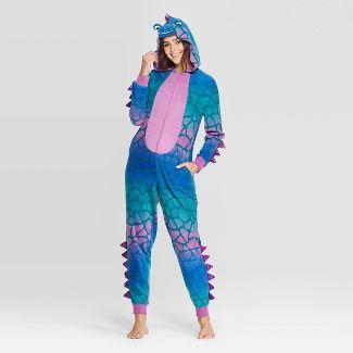 Women's Dinosaur Family Union Suit - XS/S