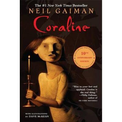 Coraline - by  Neil Gaiman (Paperback)