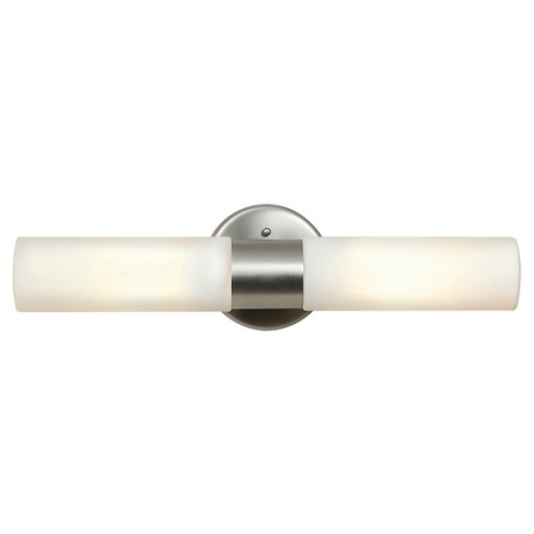 Cobalt 2-Light Vanity Light with Opal Glass Shade - image 1 of 2