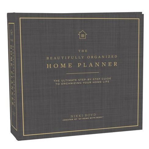 Beautifully Organized Home Planner - by  Nikki Boyd (Hardcover) - image 1 of 1
