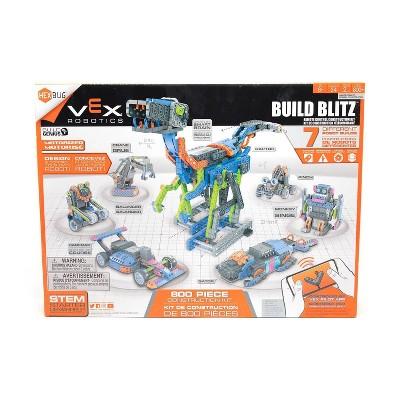 HEXBUG VEX Build Blitz Robotic Construction Set - App Controlled!