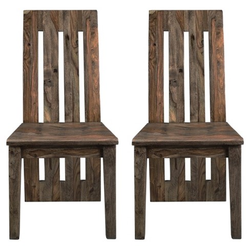Brownstone Dining Chairs Set Of 2 Nut Brown Treasure Trove Target
