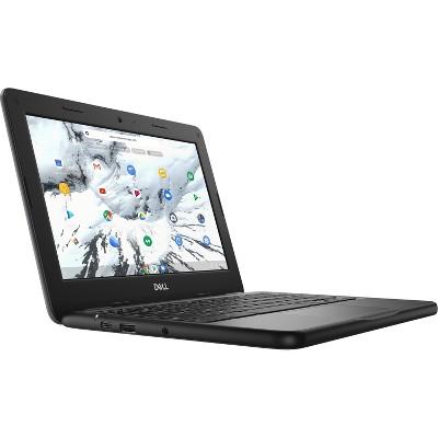 Dell Chromebook 11 3000 3100 11.6 Inch 2-In-1 1366 x 768 Convertible Intel Celeron N4020 Dual-core, 4GB LPDDR4 32GB Flash, Intel HD Graphics, Chrome OS (J0JW4)
