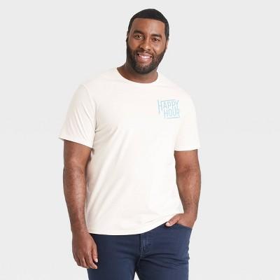Men's Big & Tall Short Sleeve Graphic T-Shirt - Goodfellow & Co™