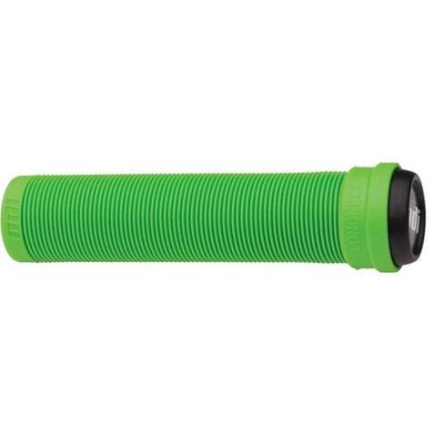 ODI Longneck Grips Flangeless 135mm Green Sold As Pair Includes Bar End Plugs - image 1 of 1