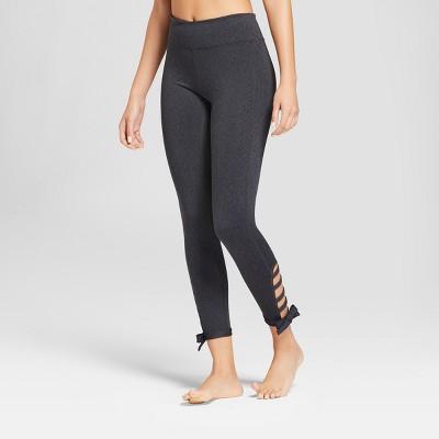 02f78997ddb51b Women's Comfort 7/8 Side Tie Mid-Rise Leggings - JoyLab™ : Target