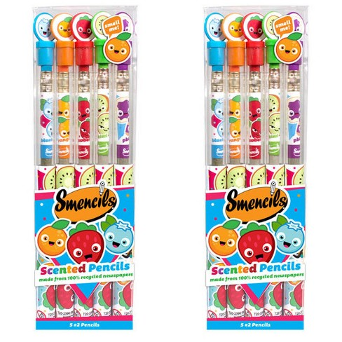 Scentco 2pk Smencils #2 Scented Pencils 10ct total - image 1 of 4